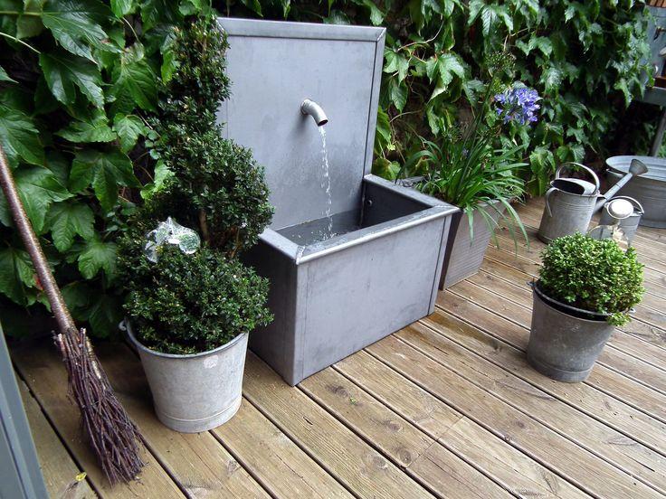 25 best ideas about fontaine jardin on pinterest. Black Bedroom Furniture Sets. Home Design Ideas