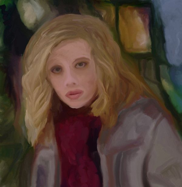 Portrait of Gillian Jacobs as Britta Perry