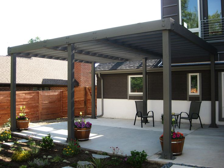 Make Relax And Peaceful Refuge Place With Modern Pergolas ...