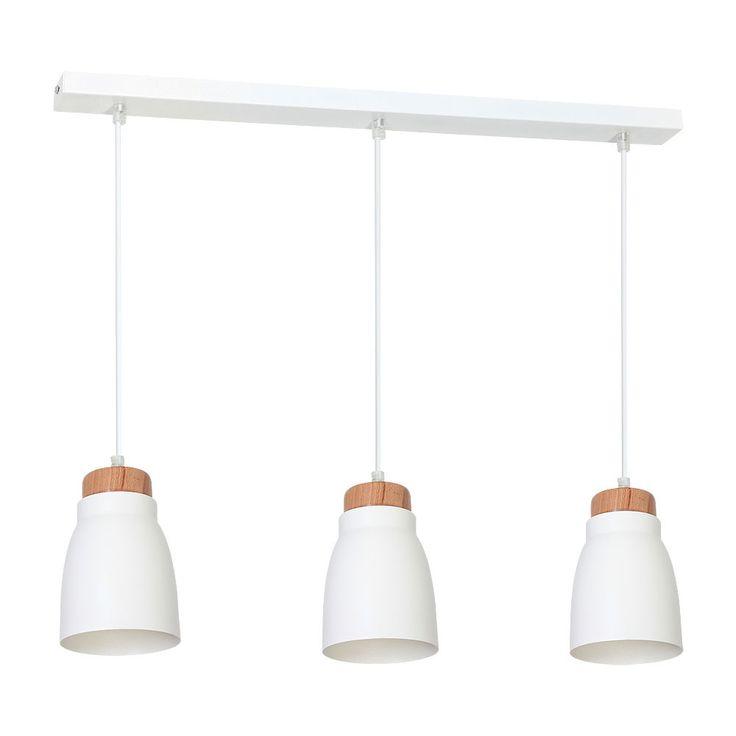 Schön Details Zu Dezente Pendelleuchte Weiß 3x E27 Modern Hängelampe Innen  Esstisch Beleuchtung