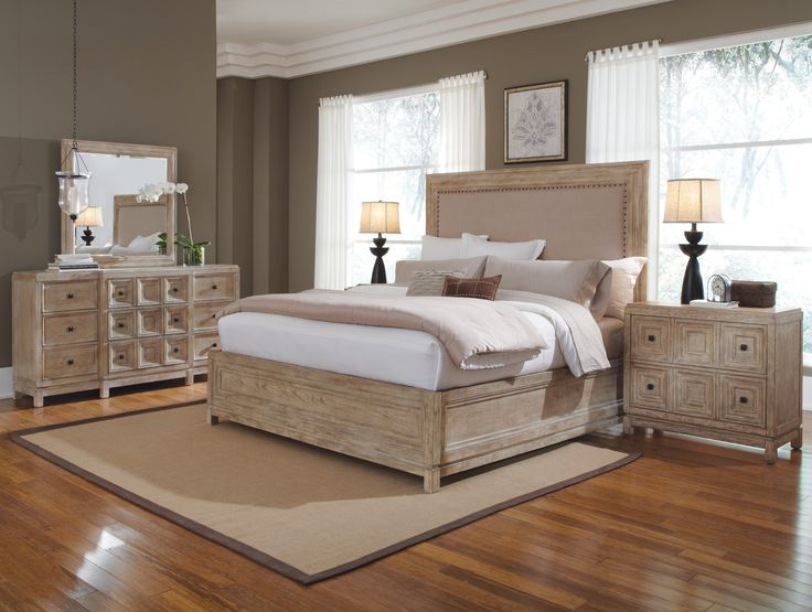 Malibu Upholstered Panel Bed 193135 2317hb 193155 2317fb 193155 2317rs
