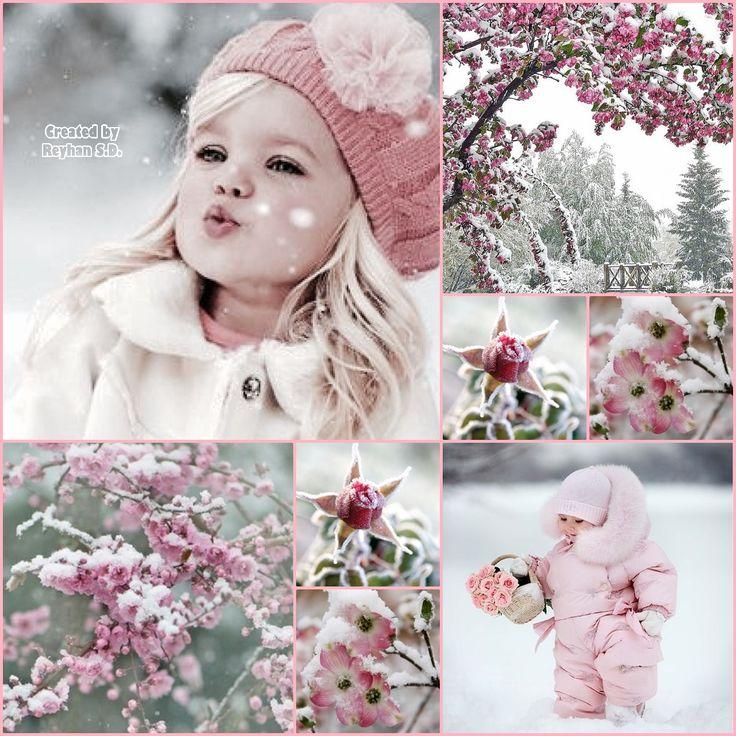 '' Winter Pink Beauty '' by Reyhan Seran Dursun