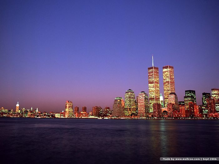 I was there when the twin towers were still standing and again the following year they were gone.