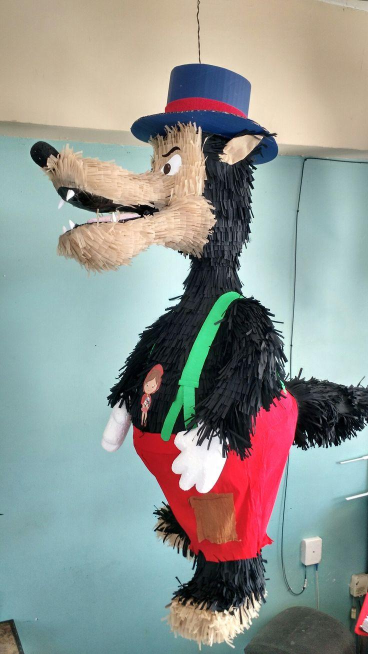 Piñata lobo feroz