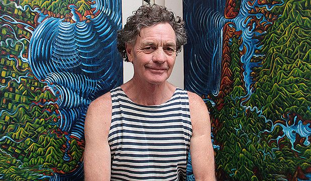 Dean Buchanan - Karekare artist.