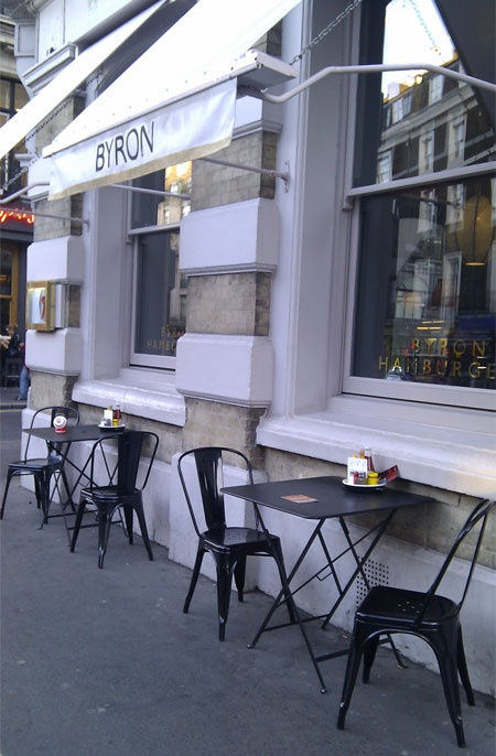 Tolix Chair For The Cafe · Small Restaurant DesignCafe ExteriorCafe ...