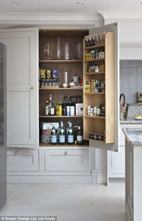 EXCLUSIVE: Bake Off fever has transcended our TV screens and is now inspiring home renovation plans in the form of 'pantry porn', according to architecture and interiors platform Houzz UK.