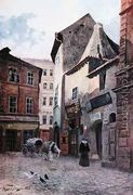 Kozna Ulicka Prague - Vaclav Jansa reproductions