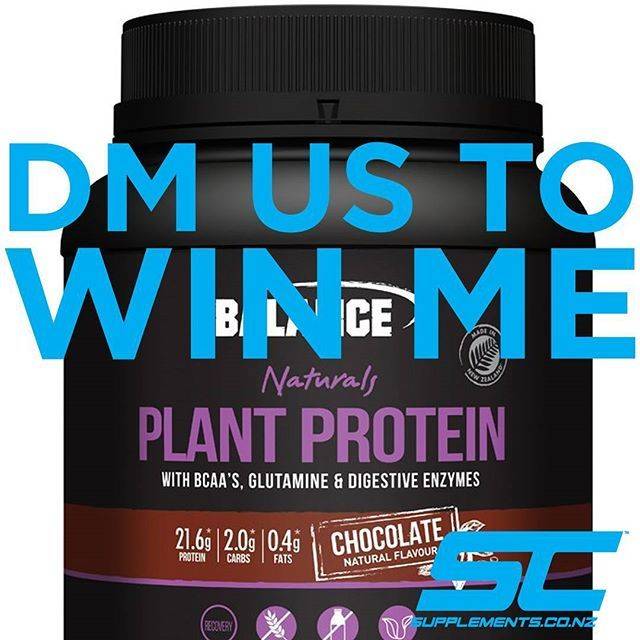 WIN ME!  Just like and tag a mate, this is the best tasting plant protein on the market and it could be yours ;-) and Save on Balance all Month long,  Plus wanna Win a Nutribullet this Feb with Supplements.co.nz and Balance Sports Nutrition?  Just purchase any Balance product from us to have a chance to Win!  @balancesportsnutrition  @_nicolehitchcock  @roshiedalts @jademead1  @beata.look @beccrossley  #trainmeanrecoverclean #protein #nzgrassfedwhey #madeinnz #fitnessmotivation #fitnessmodel…