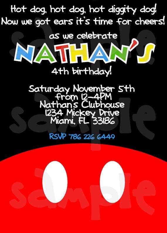 Logan's party invitation?