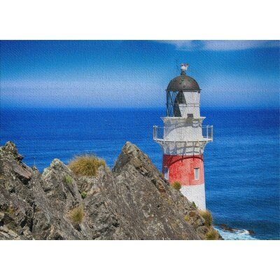 East Urban Home Lighthouse Blue Area Rug In 2020 The Light Between Oceans Blue Area Rugs Lighthouse
