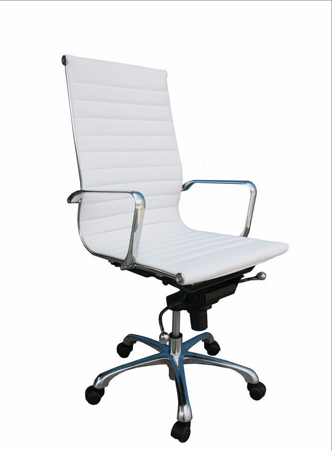 Comfy High Back White Office Chair SKU176501