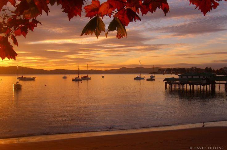 Autumn Sunrise in Hobart, Tasmania