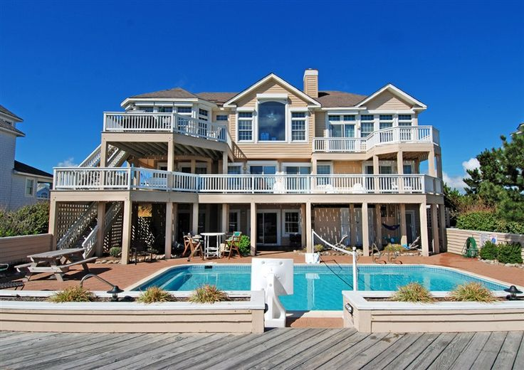 Twiddy Outer Banks Vacation Home Endless Summer I Corolla Oceanfront 6 Bedrooms