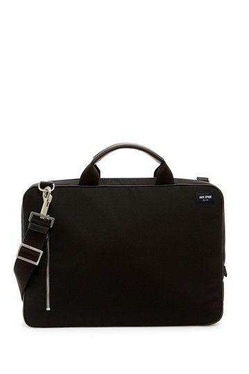 Brief Leather Trim Shoulder Bag by JACK SPADE on @nordstrom_rack