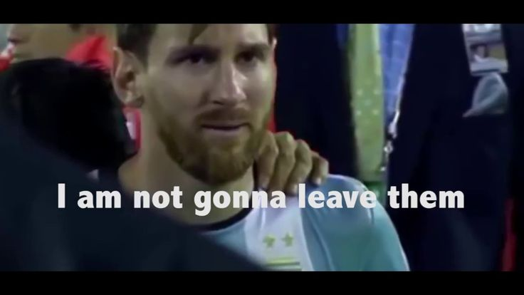 Lionel Messi crying over his Fifa 18 rating