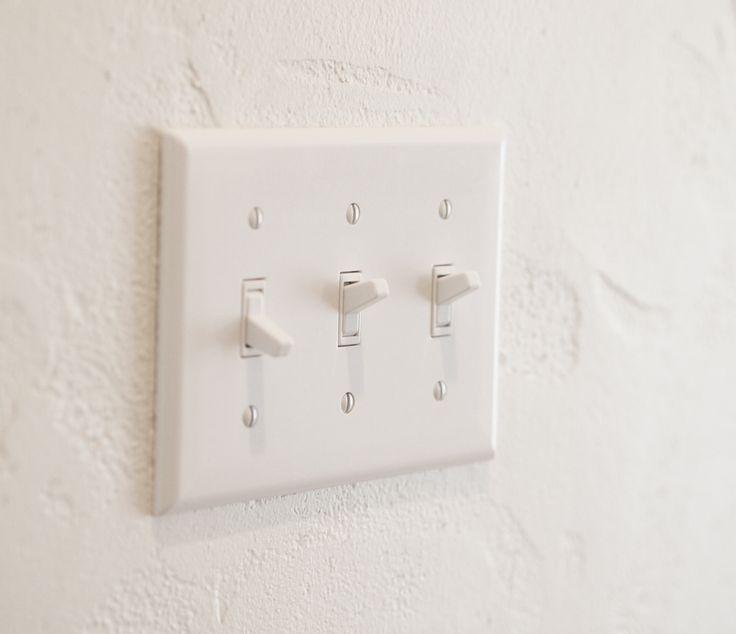 スイッチ/アメリカンスイッチ/白/インテリア/注文住宅/ジャストの家/american switch/natural/interior/house/homedecor