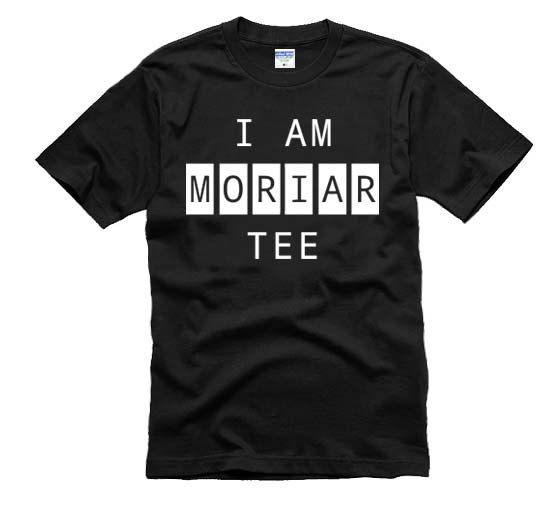 Sherlock Shirt I AM MORIARTEE T-shirt Tee More Colors XS - 2XL on Etsy, 80:25 kr