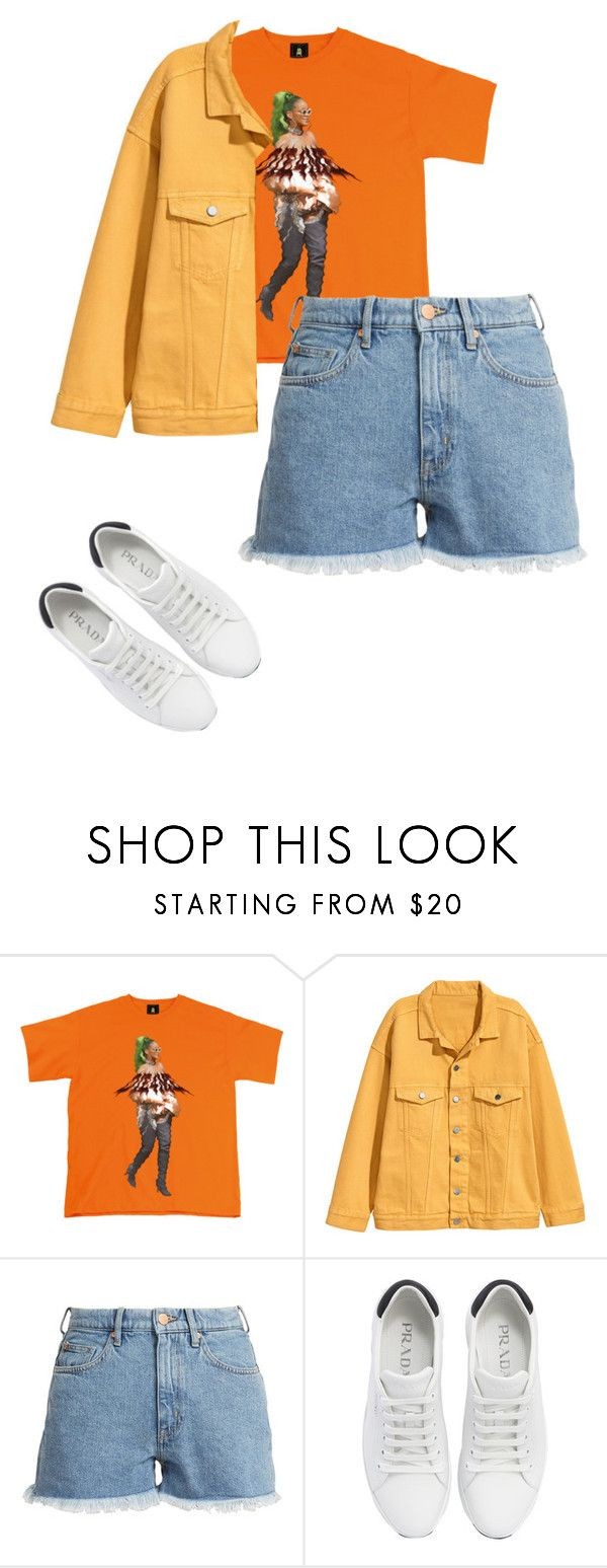 """""""Outfit"""" by elzikaa on Polyvore featuring M.i.h Jeans and Prada"""