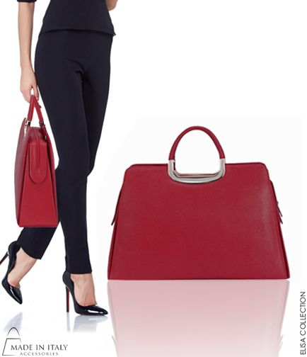 Elisa Collection | Italian Leather Satchel Bag for Women | on SALE save 5o% |Made in Italy Accessories https://madeinitalyaccessories.com/purses-for-women