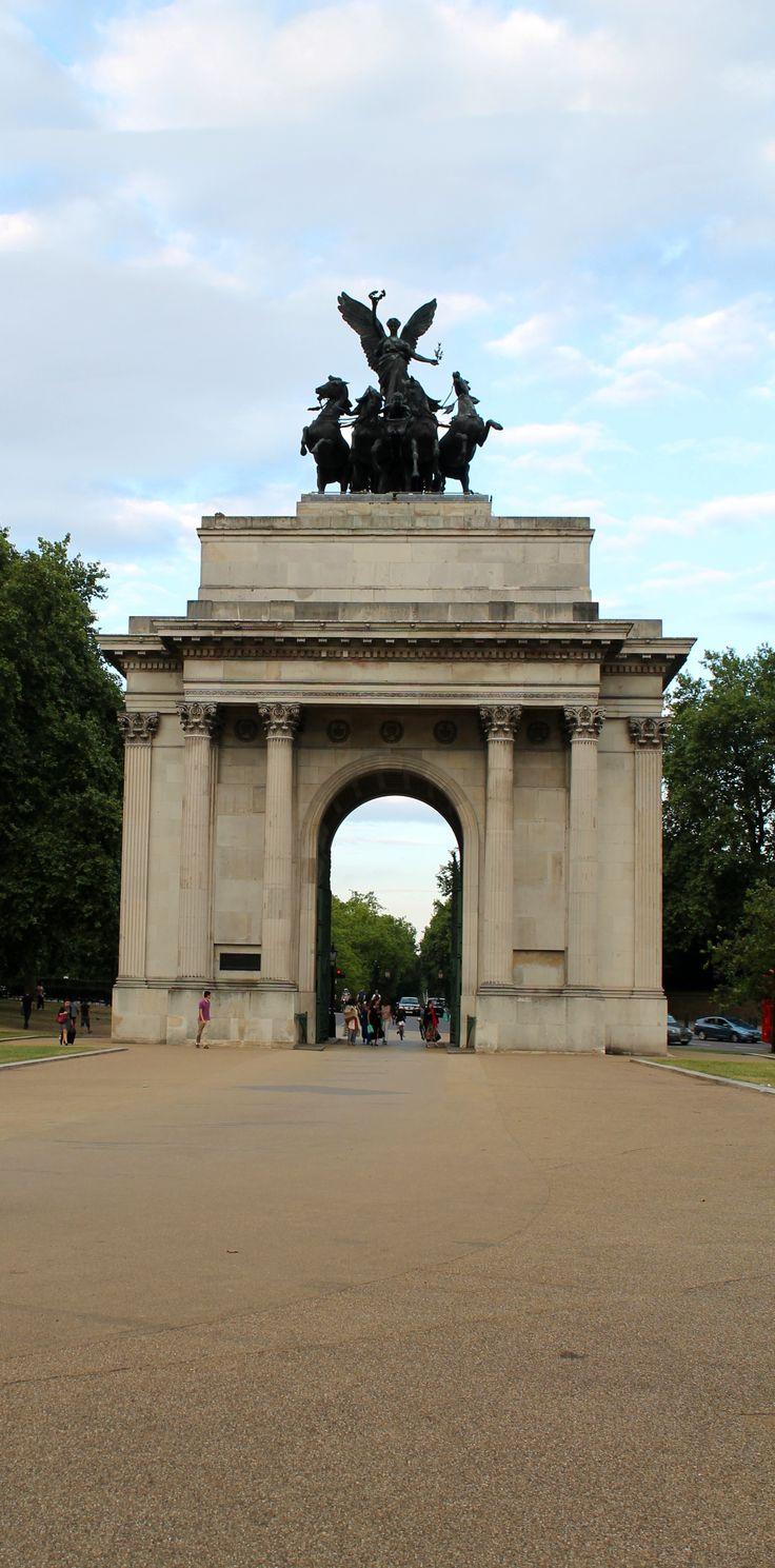 #uk #angel #peace #paz #arco #wellington #Hydepark #londres #cuadriga #jones #adrian #1912 #bronce