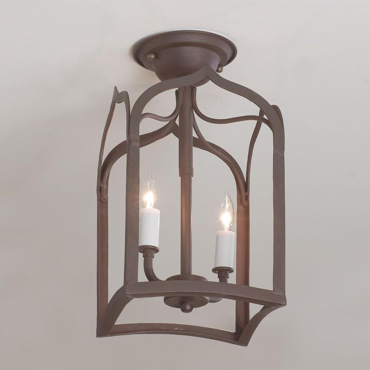 Gothic Arch Iron Ceiling Light
