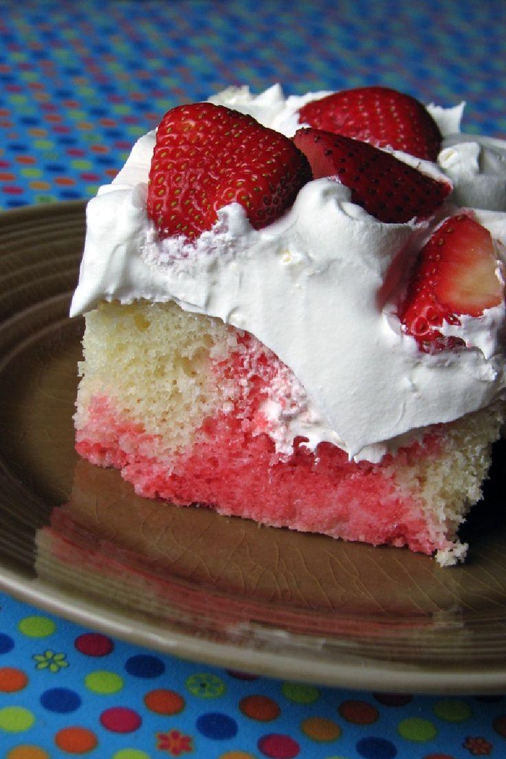 Best Strawberry Jelly Cake Recipe