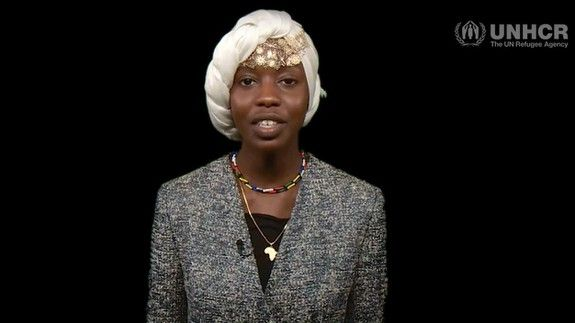 This woman was asked to comment on the South Sudan refugee crisis. She responded with a poem.