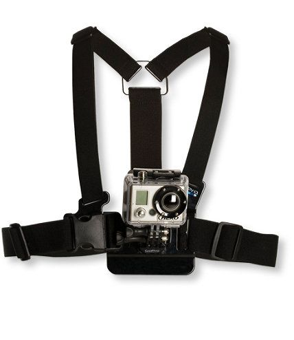 GoPro Chest Mount Harness: Cameras and Accessories | Free Shipping at L.L.Bean
