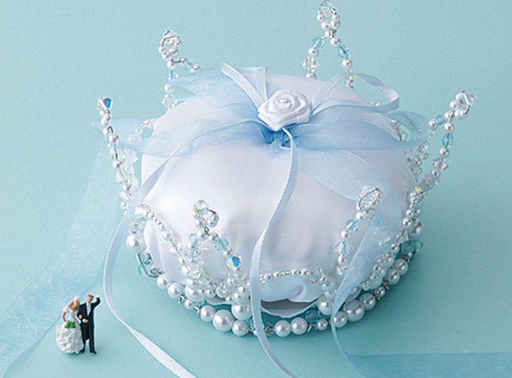 小さいころの夢をかなえて憧れのプリンセスになった結婚式