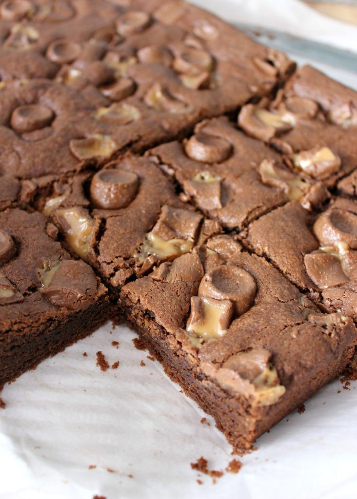 Rolo cookie bars i dig pinterest recipe in 2020 rolo