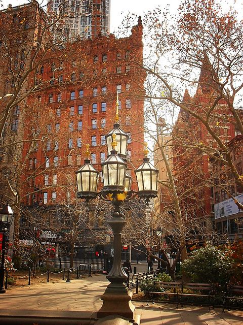 City Hall Park, Civic Center, New York City I love NYC!