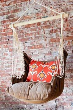 DIY hammock chair for Freedom