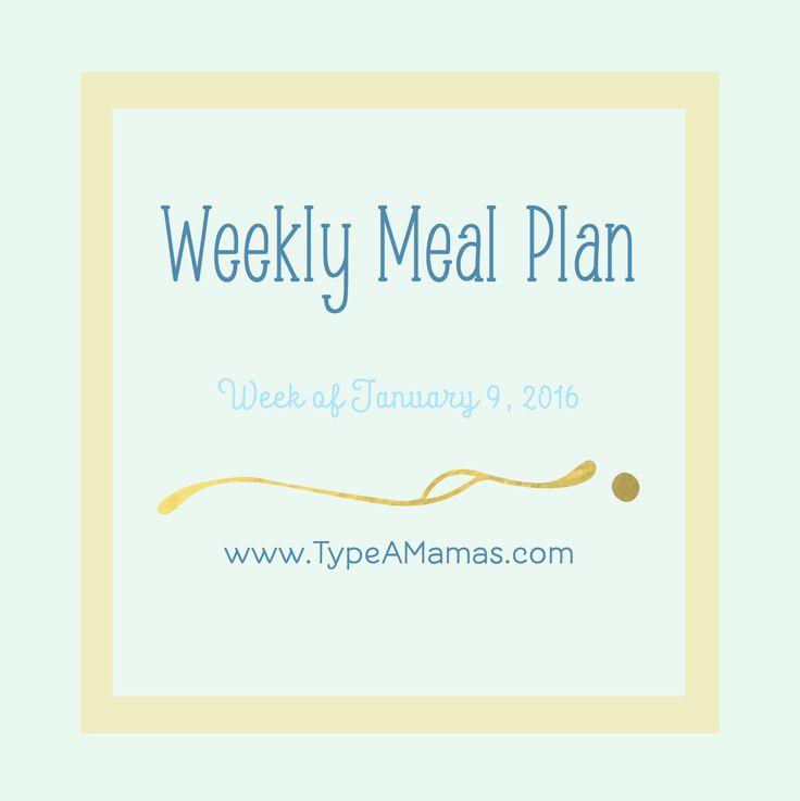 Weekly Meal Plan   french dip sliders, slow cooker beef tacos, cast iron chicken pot pie, chicken bruschetta pasta