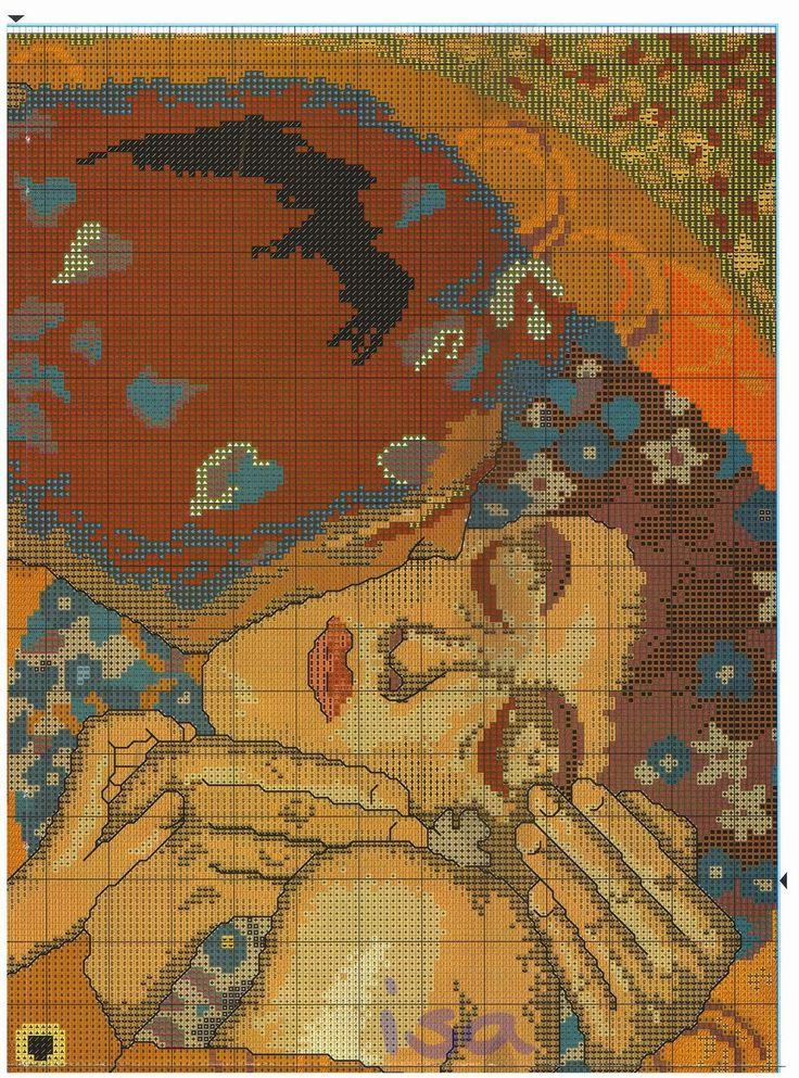 el-beso-de-klimt-2.jpg 1.185×1.600 píxeles