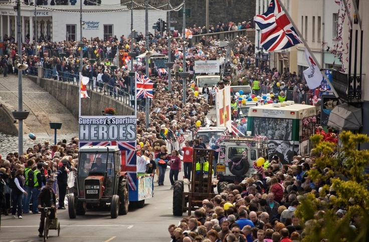 Every year on the 9th May, Guernsey celebrates Liberation Day on St Peter Port's seafront. The day commemorates the end of Guernsey's occupation by Germany during the Second World War. It's a day full of fun and festivities!