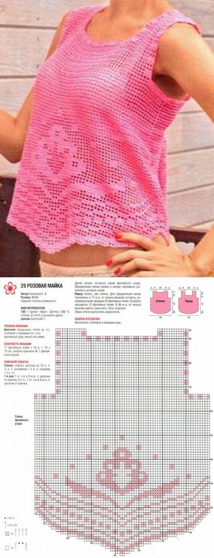Филейное вязание-crochet Filet