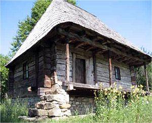 casa-barne-lemn. Romania