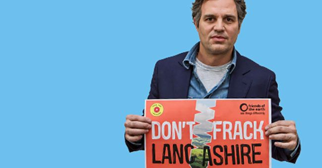 Shale gas: Mark Ruffalo contro il fracking nel Regno Unito