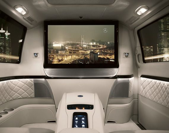 This would be great for small tours etc. MERCEDES-BENZ VIANO VISION DIAMOND – LUXURY VAN