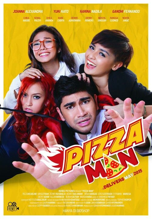 "Teaser Poster film ""Pizza Man"" Delivered on May 2015"