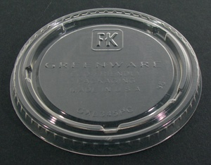 Fabri-Kal Greenware GXL345PC Clear Plastic Souffle / Portion Cup Lid 125 / Pack