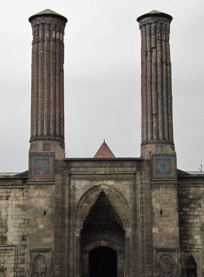 Double Minarets.  Erzurum - Turkey