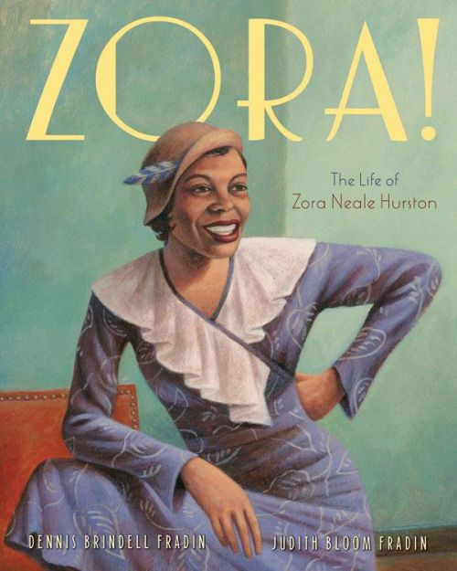 Book Cover for 'The Life of Zora Neale Hurston' Zora Neale...