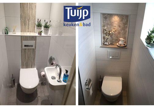 Zo nu eerst ff ontspannen! Dat moet toch geen probleem zijn in zo'n fraai toilet! Welke past het beste bij jou? Kijk voor meer van onze projecten op: http://tuijpkeukenenbad.nl/badkamers/badkamer-projecten #tuijp #keuken #badkamer #volendam