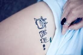 studio ghibli tattoo - I would love to get this! Probably on my lower back