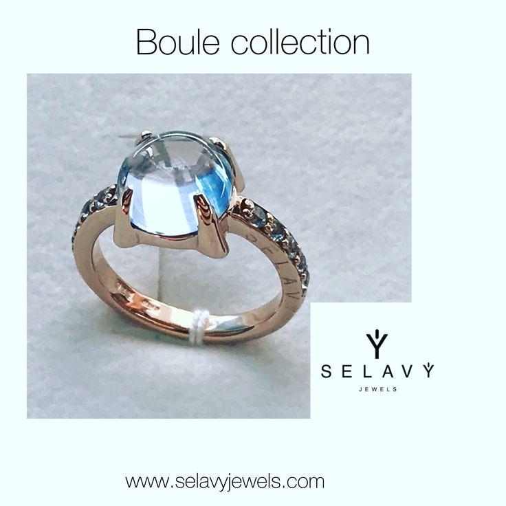 SELAVY' JEWELS Anello solitario Boule collection. Made in Italy. www.selavyjewels.com #selavyjewels #anello #solitario #boule #madeinitaly #fashion #moda #italiandesign #ring #preziosi