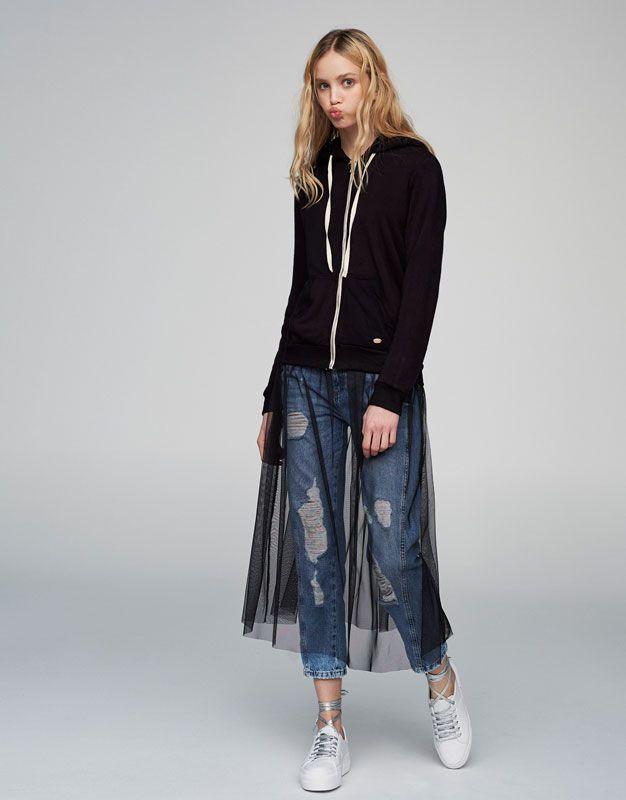 :Kapüşonlu sweatshirt