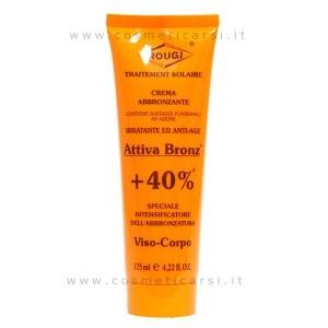 Rougj Abbronzante Crema Solare Viso Corpo  +40% / 125 ml  #cosmeticarsi #cosmetici