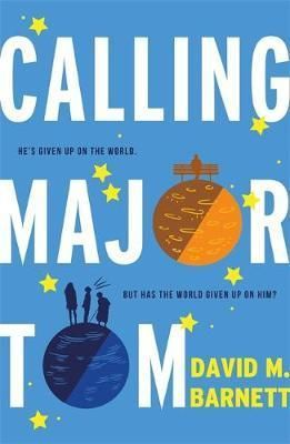 """""""Calling Major Tom"""", by David M. Barnett - A man who has given up on the world. A family who show him how to live. Forty-something Thomas is very happy to be on his own, far away from other people and their problems. But beneath his grumpy exterior lies a story and a sadness that is familiar to us all. And he's about to encounter a family who will change his view of the world for good."""